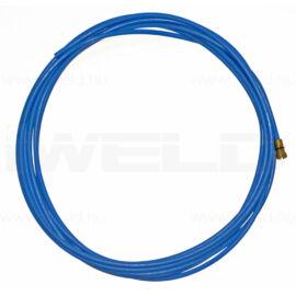 Huzalvezető teflon 0,8-1,0 4m kék