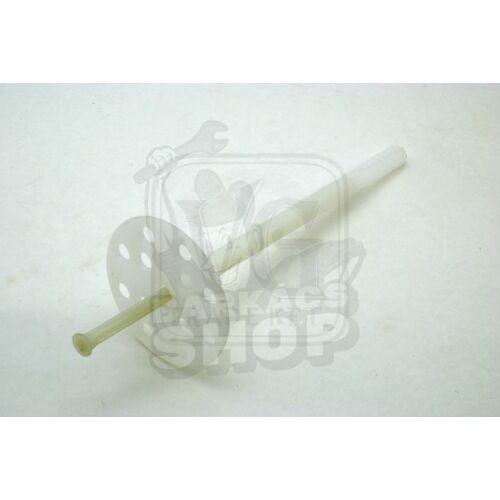 Szigeteléstartó ütésálló műanyag csappal 10.0*180 (átfogás: 120-130 mm)