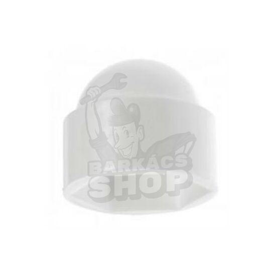 Csavartakaró kupak fehér M10