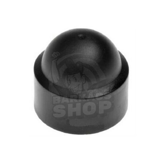 Csavartakaró kupak fekete M10