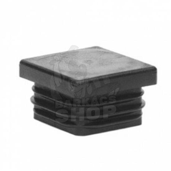 Zártszelvény dugó, fekete 30x60 mm